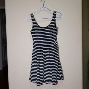 Forever 21 Blue and White Dress